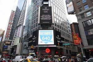 The MPIRICA Quality Score was in lights on Times Square when we announced our funding.